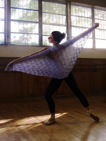 Picture of The Ballerina Shawl -- Instant Download
