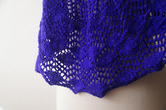 Thistle and Nettle Shawl -- Instant Download
