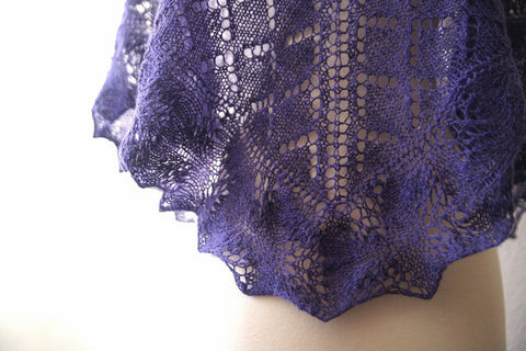 Picture of Farm Shawl -- Instant Download