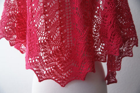 Picture of The Lisa One Skein Shawl -- Instant Download