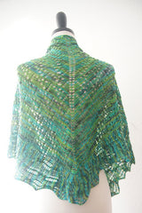 The Noble Knits Shawl - Instant Download