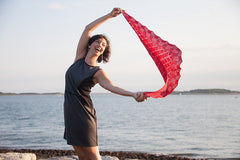 Crux Shawl--Instant Download