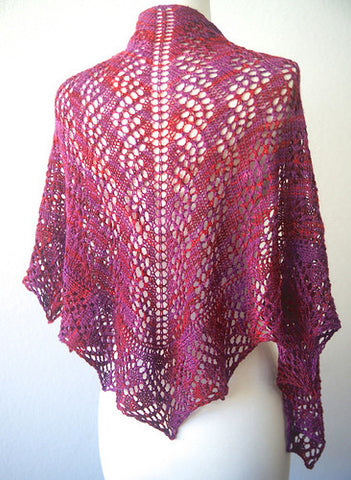 Picture of Breathless One Skein Shawl -- Instant Download