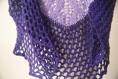 Aspen Shawl -- Instant Download