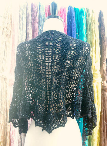 Picture of Starry Night Shawl -- Instant Download