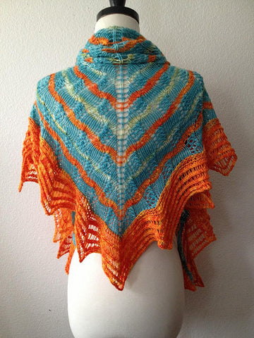 Picture of 2013 LA Yarn Crawl Shawl -- Instant Download