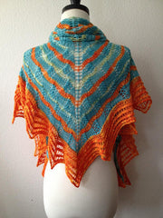 2013 LA Yarn Crawl Shawl -- Instant Download