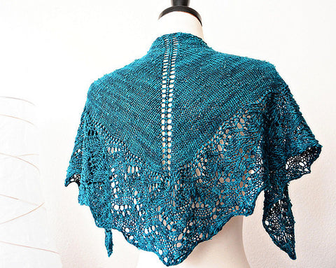 Picture of Choose your Edging Shawl -- Instant Download