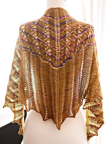 Picture of Desert Shawl -- Instant Download