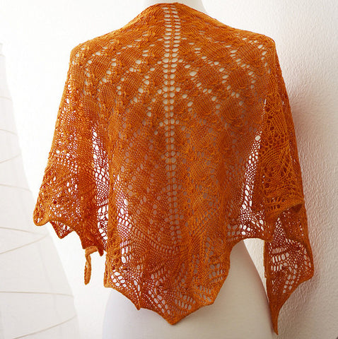 Picture of Sunkissed Shawl -- Instant Download