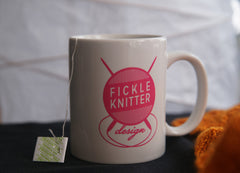 Fickle Knitter Logo Coffee Mug
