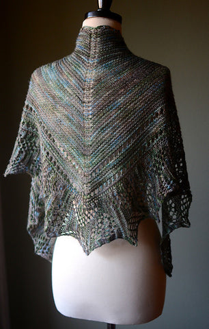 Picture of Laguna Shawl -- Instant Download