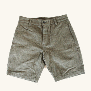Wool Shorts - Grey