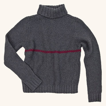 Phillips Turtleneck | Coal Heather