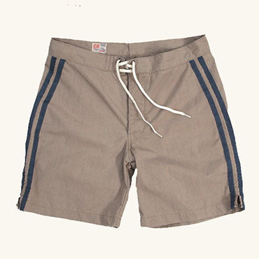 Classic Double Pinline Short | Clay