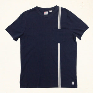 Speed Stripe Tee | Indigo
