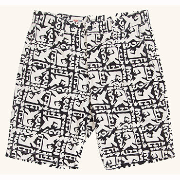 Ballistic Short | Black/White