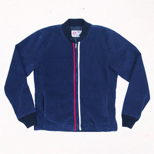 Corduroy Surf Club Jacket | Indigo