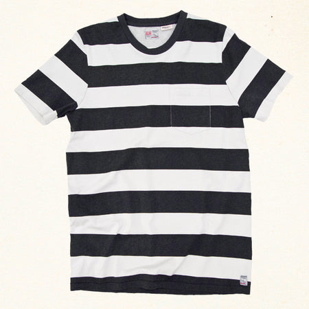 Mainland Stripe Tee | Vintage Black