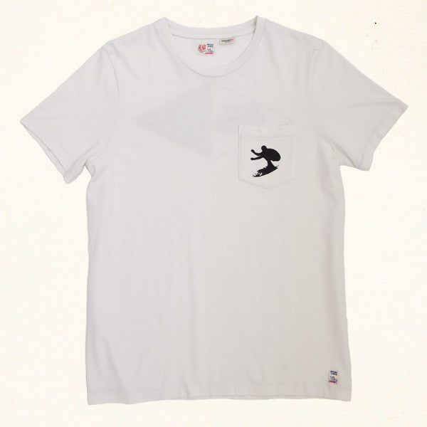 Surfboard House Tee | White Water
