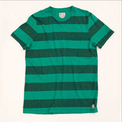 Mainland Stripe | Lagoon Green