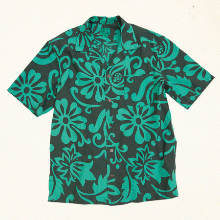 Button Up Pareo | Teal