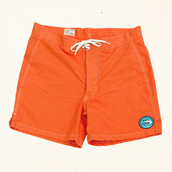 Makaha Drowner Comp Trunk | Orange Blossom