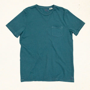 Pacific Pocket Tee | Teal