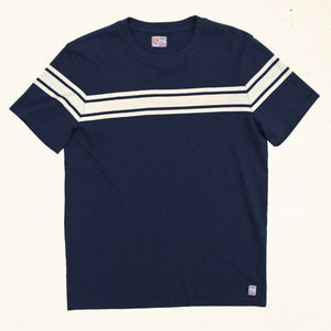 Sailors Chest Stripe Tee | Indigo