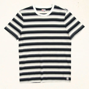 Malibu Stripe Tee | Black