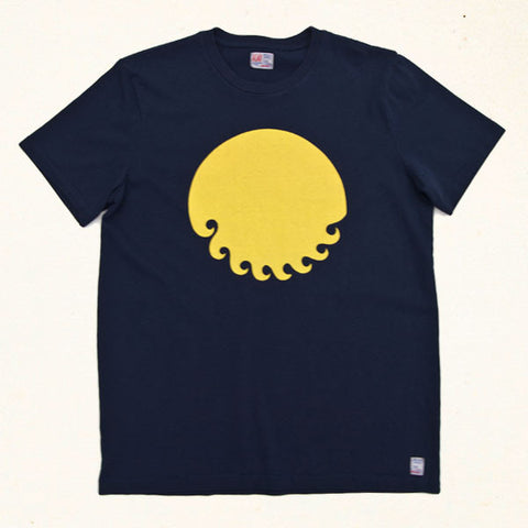 Native Sun Tee | Indigo