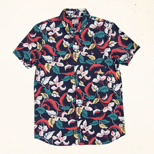 Island Time Classic S/S Button Up | Paradise Cove