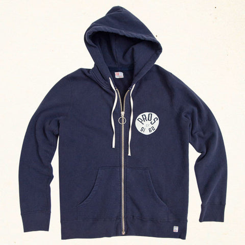 Pros of 61 Full Zip Hoodie | Vintage Navy