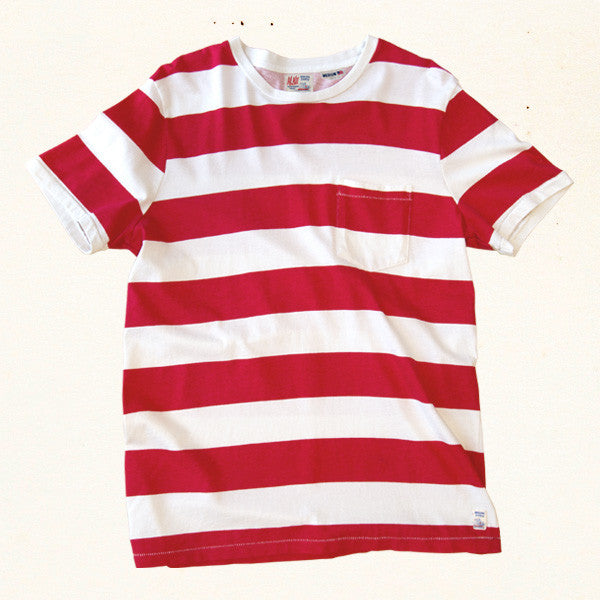 Mainland Stripe Tee |åÊAlii Red