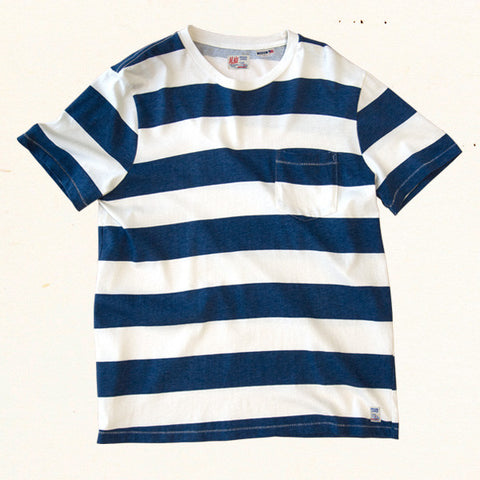 Mainland Stripe Tee | Blue Hawaii
