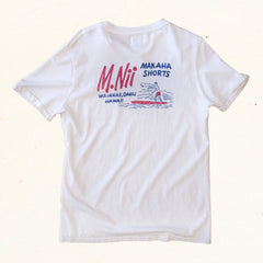 Makaha Tee | Competition White