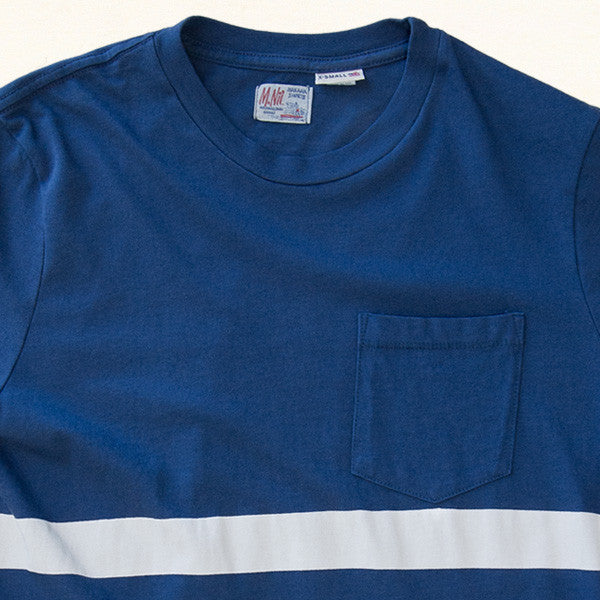 Jonsey Stripe Tee | Blue Hawaii