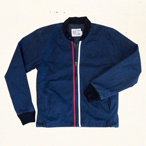 Surf Club Jacket | Indigo Blue