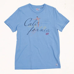 California Tee | Seventies Blue