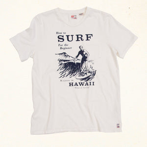 Surf Tee | White Water