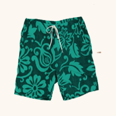 Mahalini Short | Lagoon Green