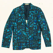 Polynesian Blazer | Abstract Pareo