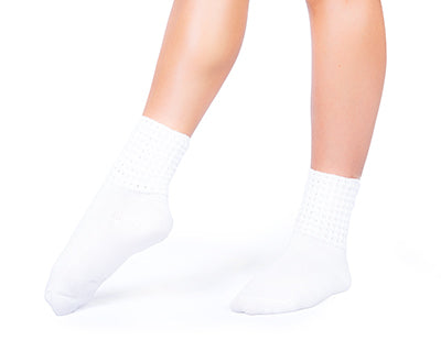 Antonio Pacelli Ankle Length Irish Dance Socks with Seamless Toe and Arch Support for Comfort and Balance CorrsIrishShoes.com