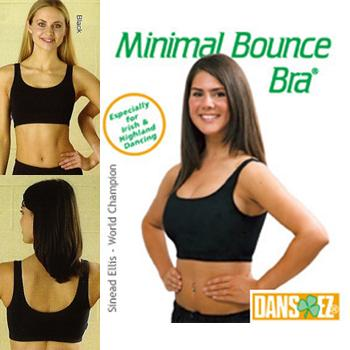 Dans-ez Minimal Bounce Bra for Irish Dancing Practice
