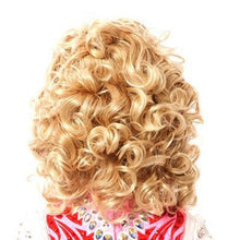 Load image into Gallery viewer, High-Quality Michaela Medium Length Loose Soft Curl Wig- Full Wig Reverse View CorrsIrishShoes.com