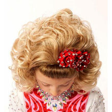 Load image into Gallery viewer, High-Quality Michaela Medium Length Loose Soft Curl Wig- Full Wig Top View CorrsIrishShoes.com