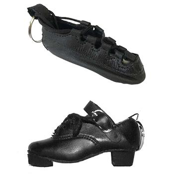 Irish Dance Shoes Keyrings