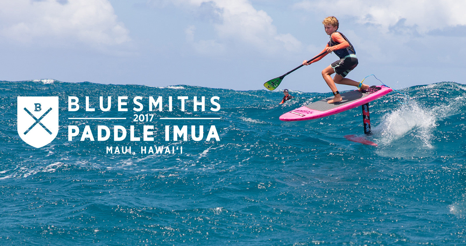 Hydro Foil SUP Almost Beats Unlimited SUP Experts in Bluesmiths Paddle Imua