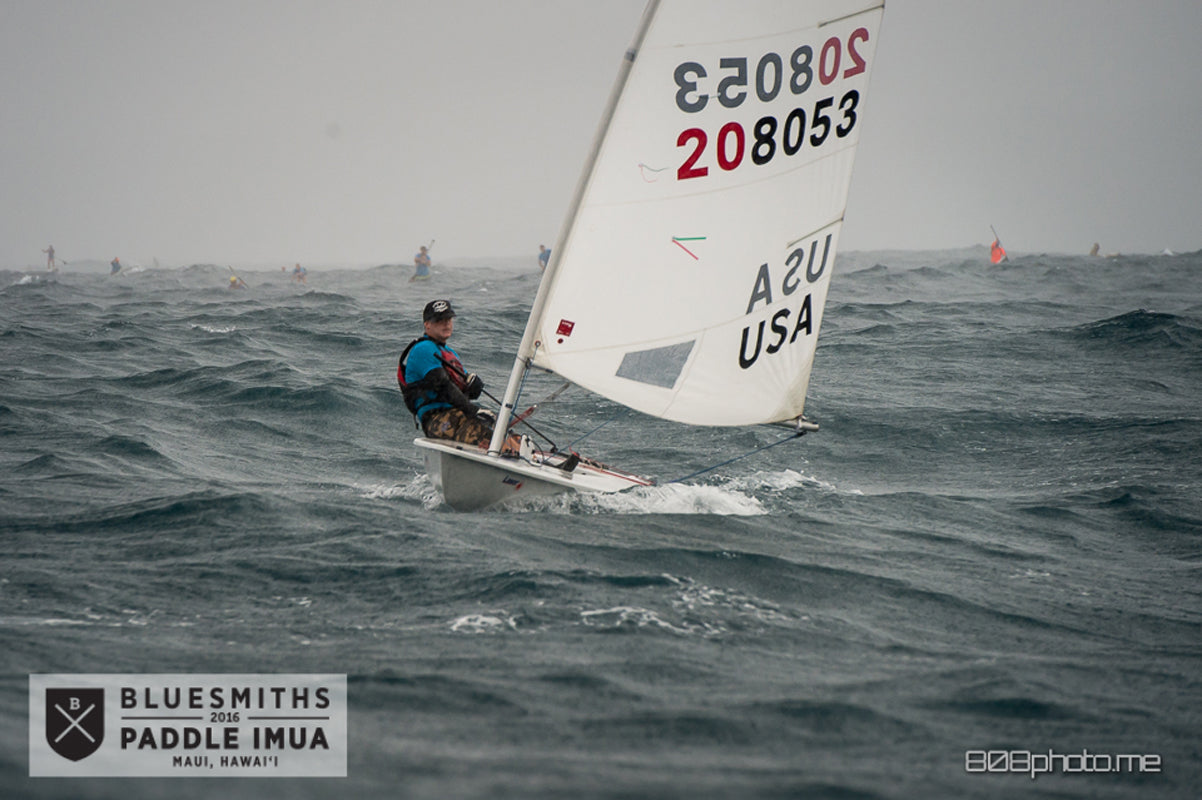 Laser Sailing Bluesmiths Paddle Imua 2016