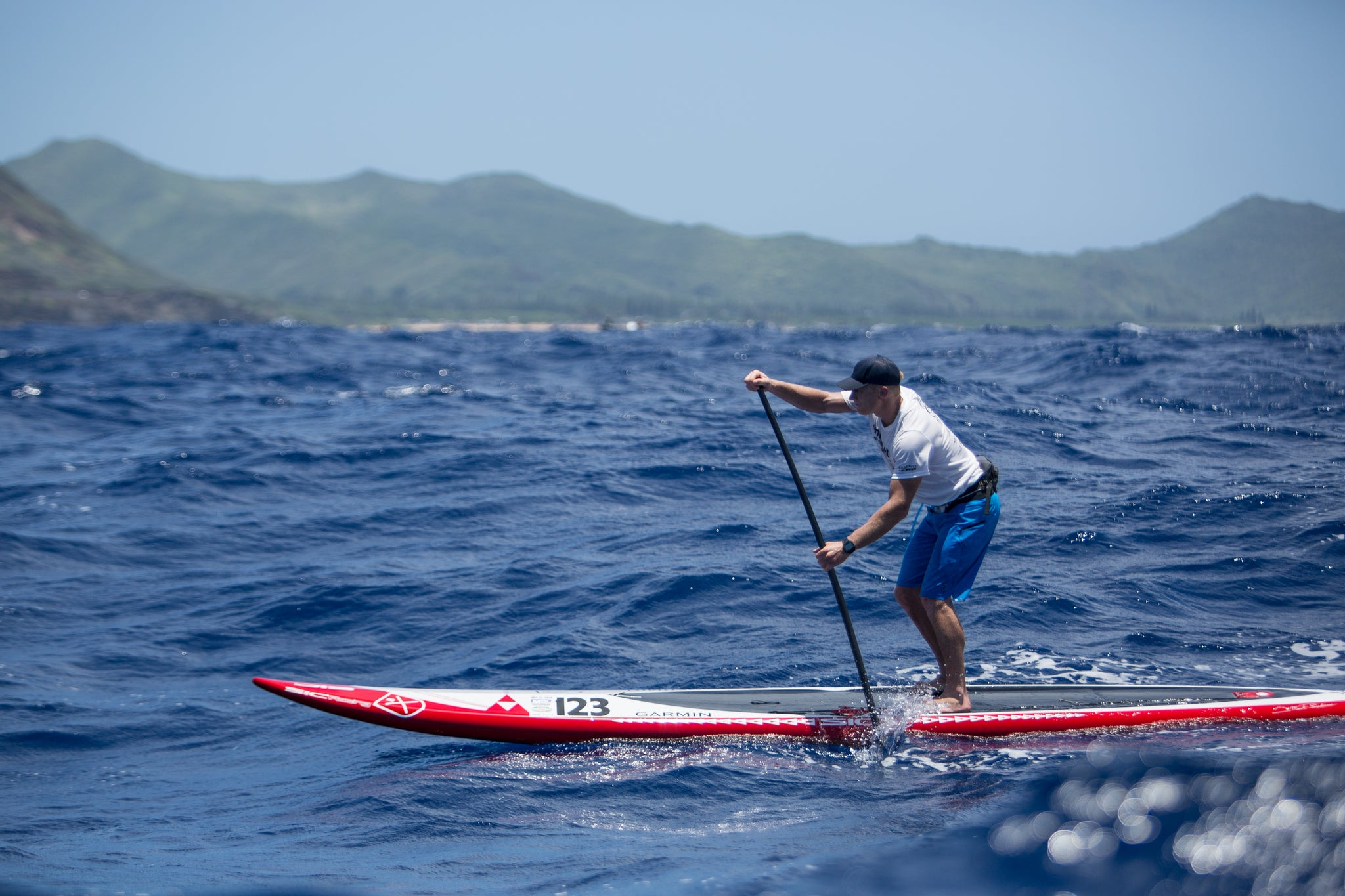 Jimmy Spithill - Molokai to Oahu 2014 - Bluesmiths